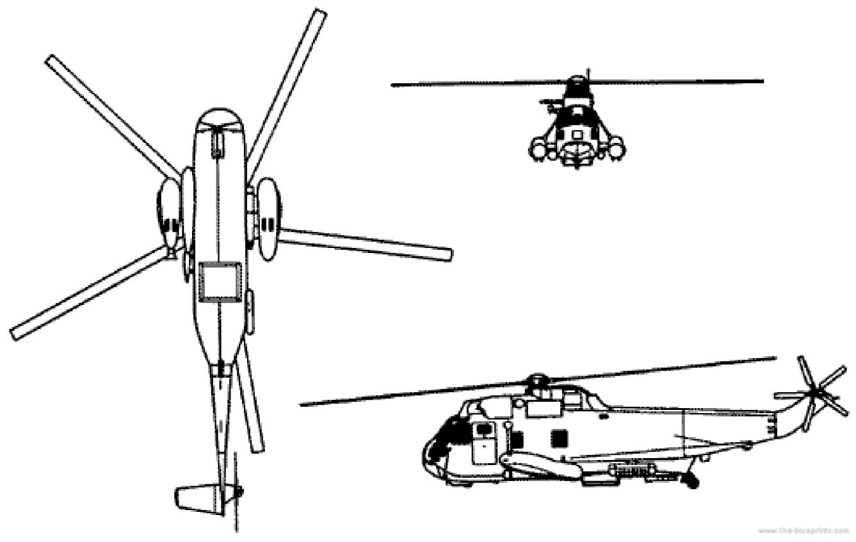 Blueprints > Helicopters > Sikorsky > Sikorsky SH-3 Sea King