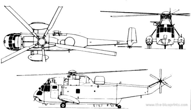 Blueprints > Helicopters > Westland > Westland Sea King Mk.6