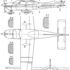 Cessna 406 Diagram 1995 Honda Civic Alarm Wiring Blueprints Modern Airplanes 177 Cardinal
