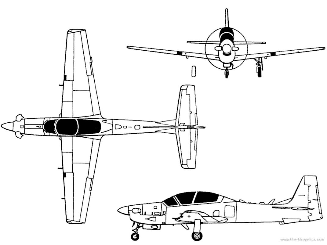 Embraer Emb 314 A 29 Super Tucano Brazil