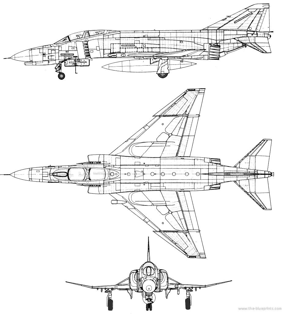 Blueprints > Modern airplanes > McDonnell Douglas