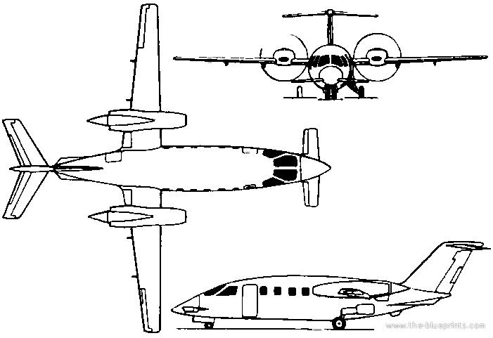Blueprints > Modern airplanes > Modern OP > Piaggio P.160
