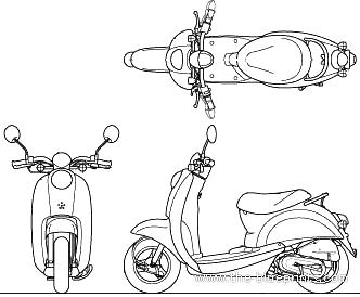 Honda Scoopy 50 (2010)