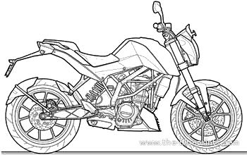 KTM 200 Duke (2012)