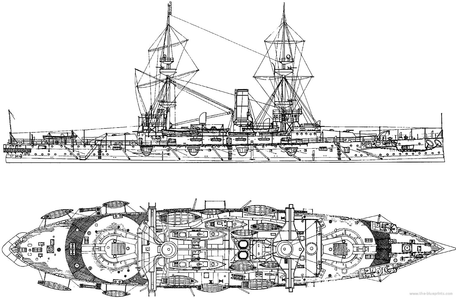 Blueprints > Ships > Battleships (UK) > HMS Majestic