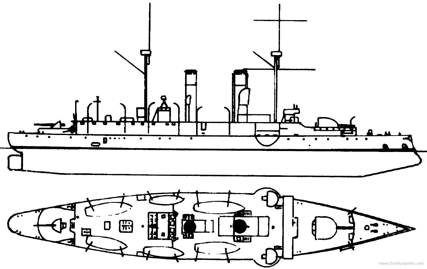 Blueprints > Ships > Cruisers > Hr.Ms. Sumatra 1891