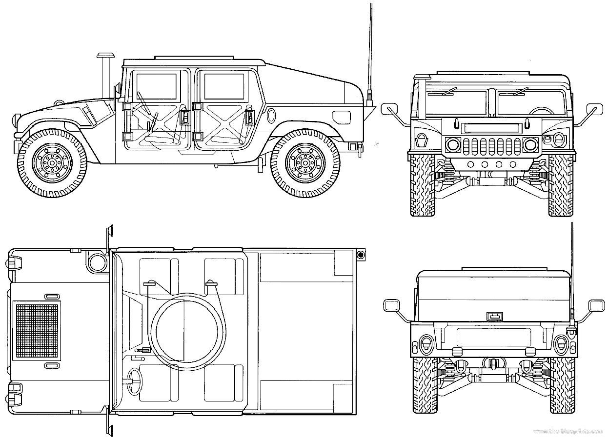Blueprints > Tanks > Tanks A > AM General M997 HMMWV