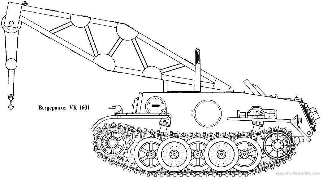 Blueprints > Tanks > Tanks U-Z > VK1601 Bergepanzer
