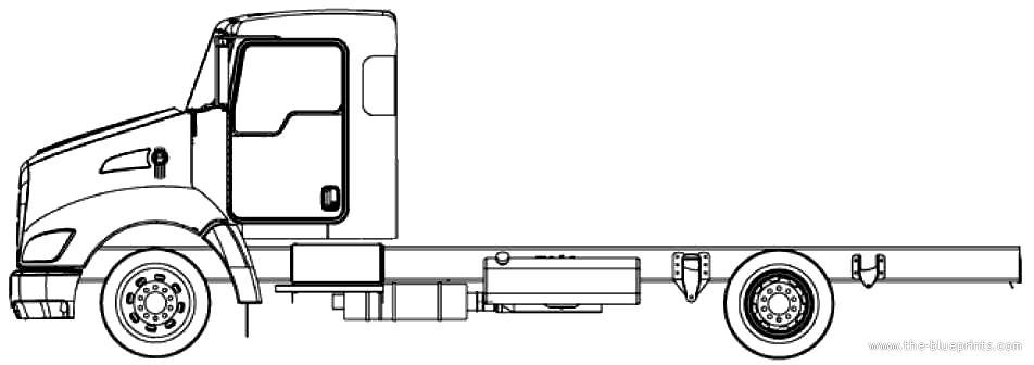 Blueprints > Trucks > Kenworth > Kenworth T170 (2011)