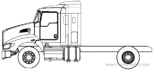 Blueprints > Trucks > Kenworth > Kenworth T440 (2011)
