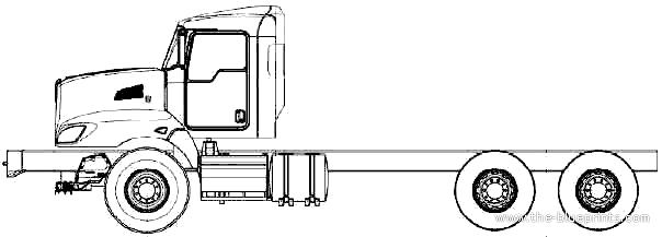 Blueprints > Trucks > Kenworth > Kenworth T470 (2011)