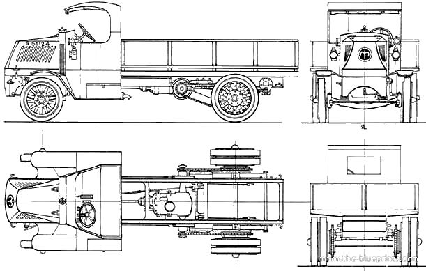 Blueprints > Trucks > Mack > Mack AC 5ton Truck (1918)