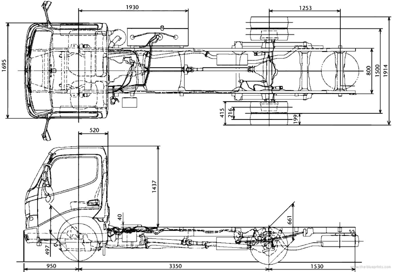 Blueprints > Trucks > Toyota > Toyota Dyna 150XL (2013)