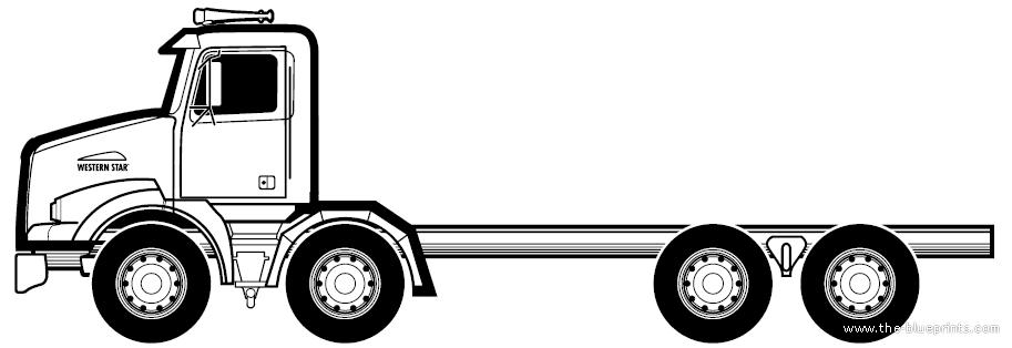 Blueprints > Trucks > Western Star > Western Star 4800 TS