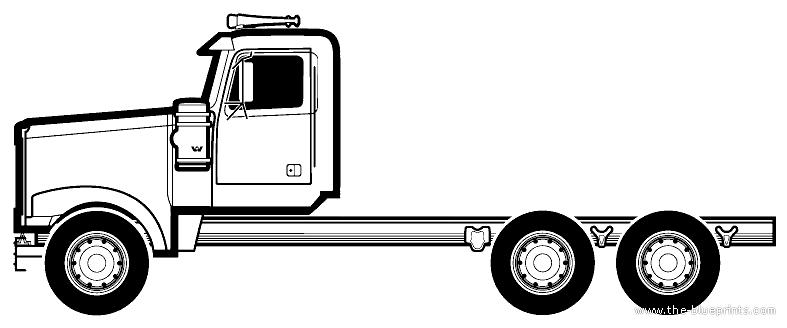 Blueprints > Trucks > Western Star > Western Star 4900 XE