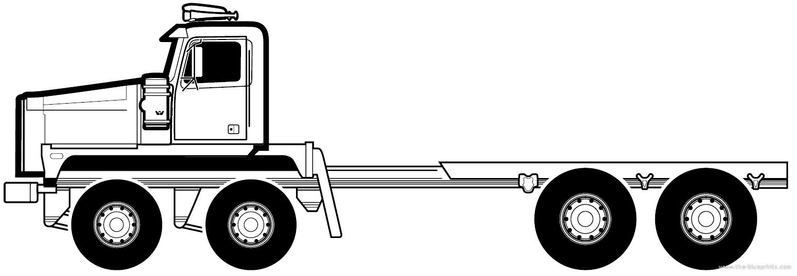 Blueprints > Trucks > Western Star > Western Star 6900 TS