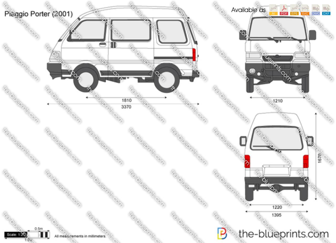 Piaggio Porter Van