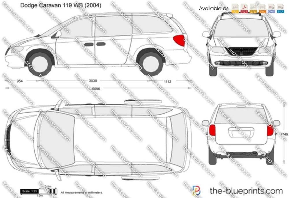 medium resolution of dodge caravan 119 wb