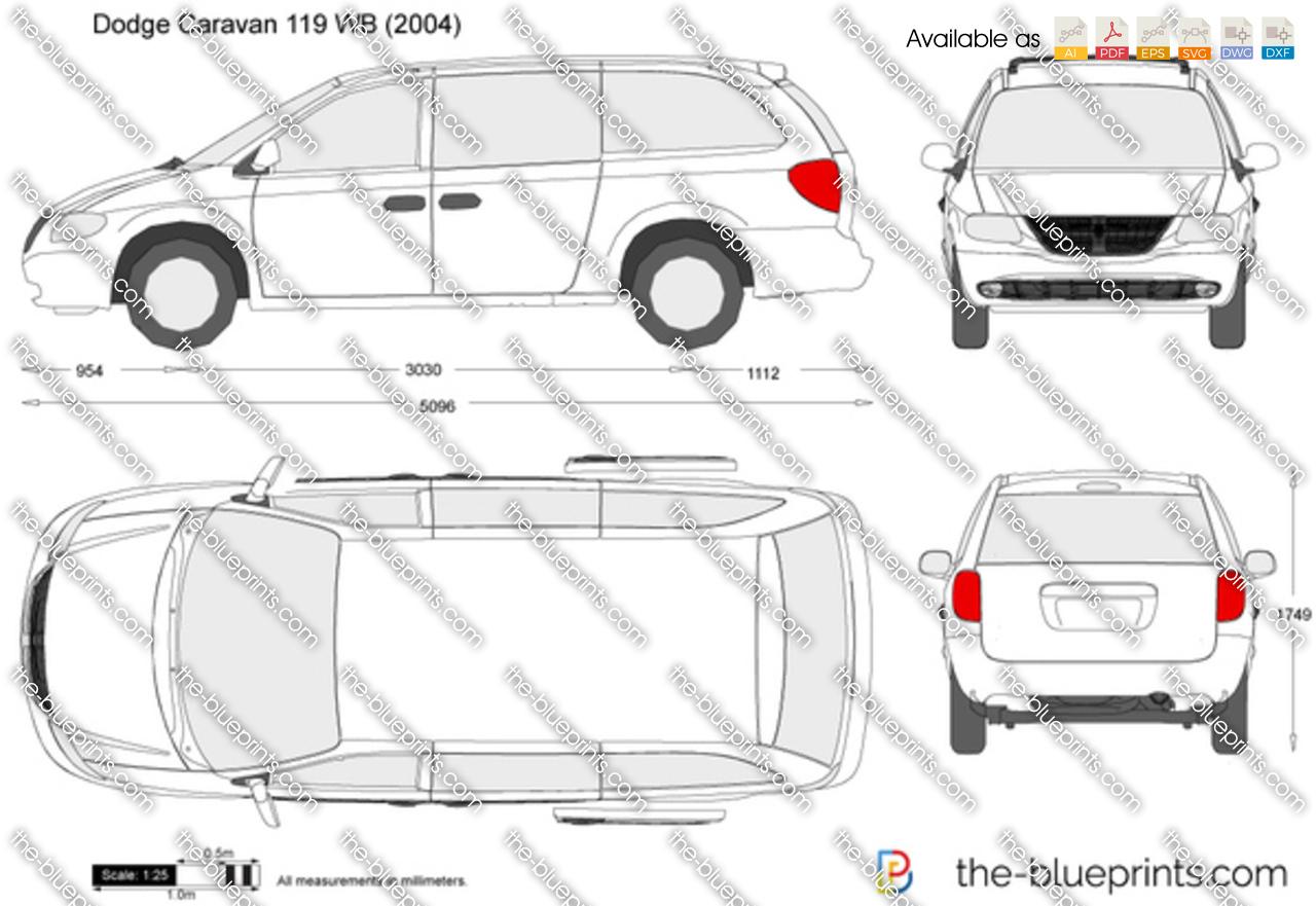 hight resolution of dodge caravan 119 wb