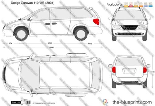 small resolution of dodge caravan 119 wb