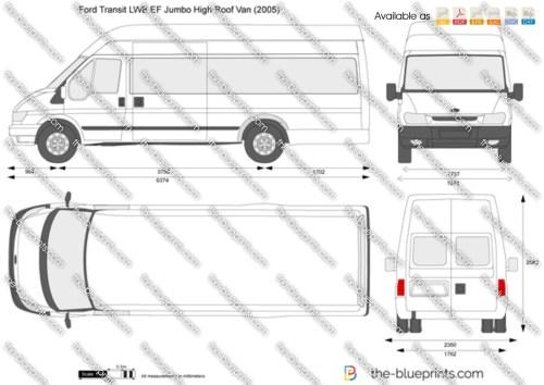 small resolution of ford transit van diagram wiring diagram loadford transit lwb ef jumbo high roof van vector drawing