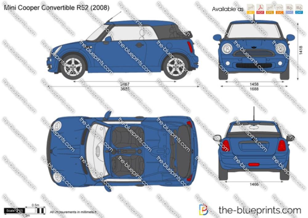 medium resolution of mini cooper convertible r52