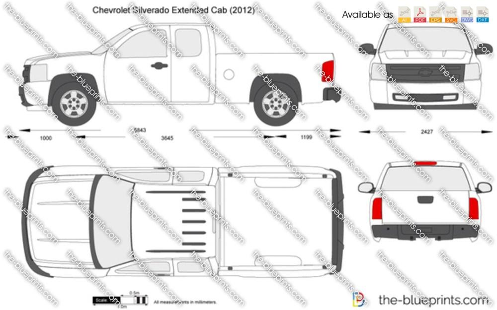 medium resolution of chevrolet silverado extended cab