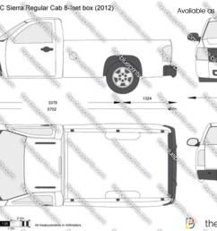 gmc sierra regular cab 8 feet box  [ 1280 x 814 Pixel ]