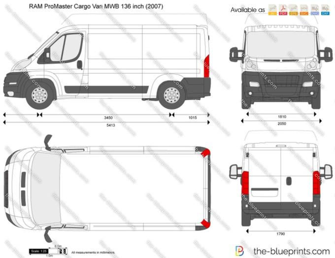 Ram Promaster 1500 Interior Dimensions