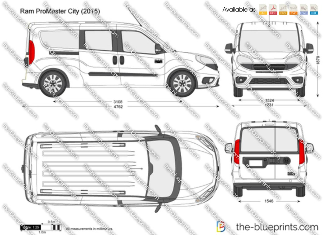 Dodge Promaster Interior Specs