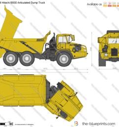 bell hitachi b50d articulated dump truck [ 1280 x 1117 Pixel ]