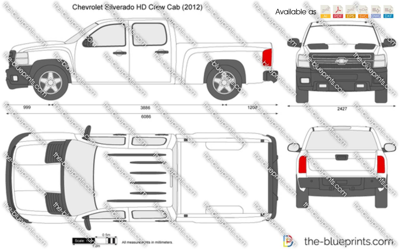 Chevrolet Silverado Dwg