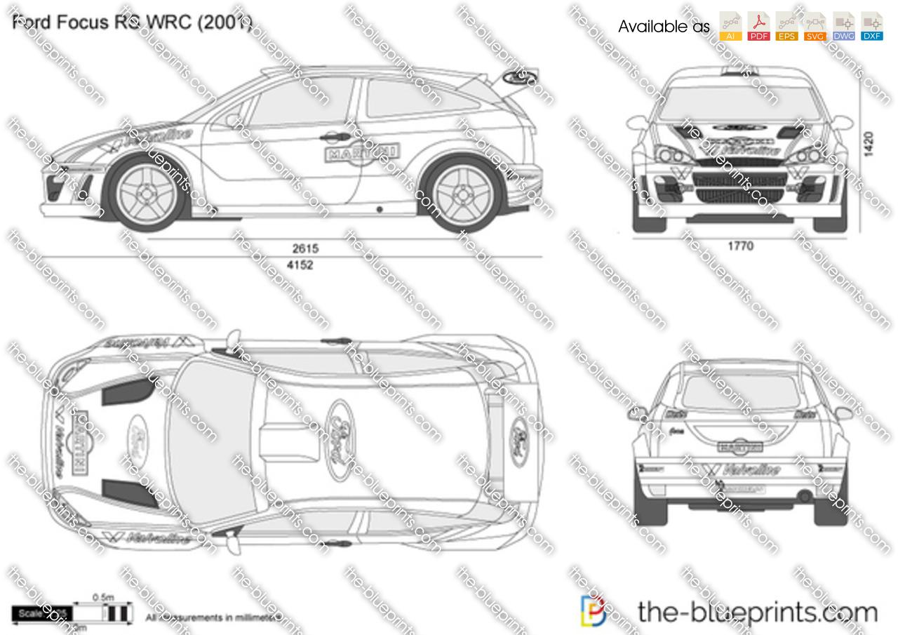 Ford Focus Wrc Blueprint