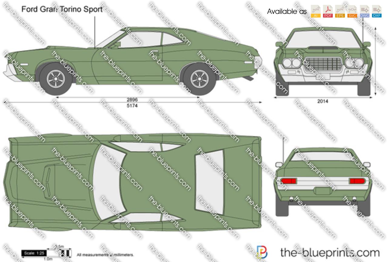 hight resolution of ford gran torino sport