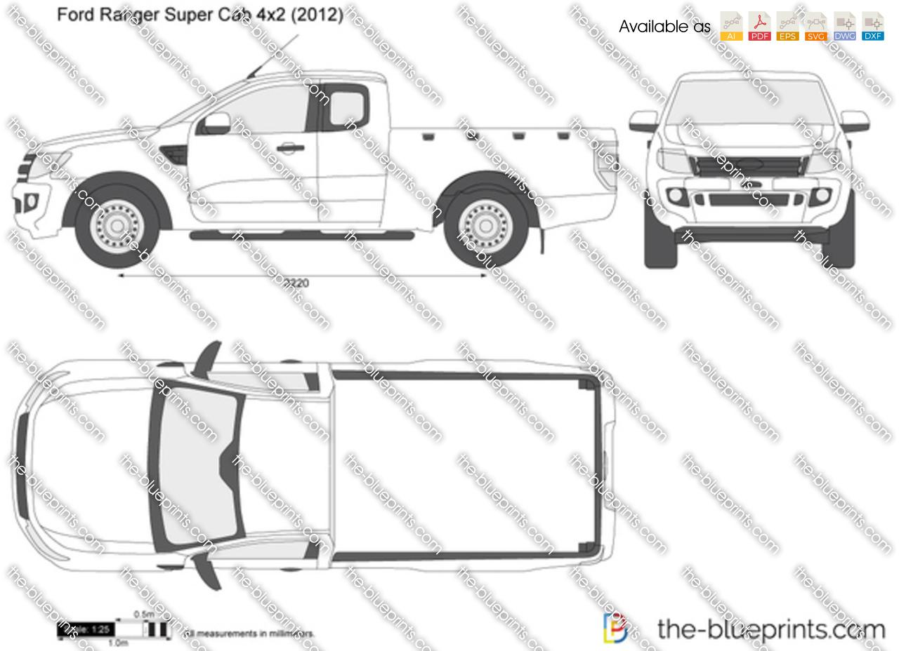 Ford Ranger Dimensions