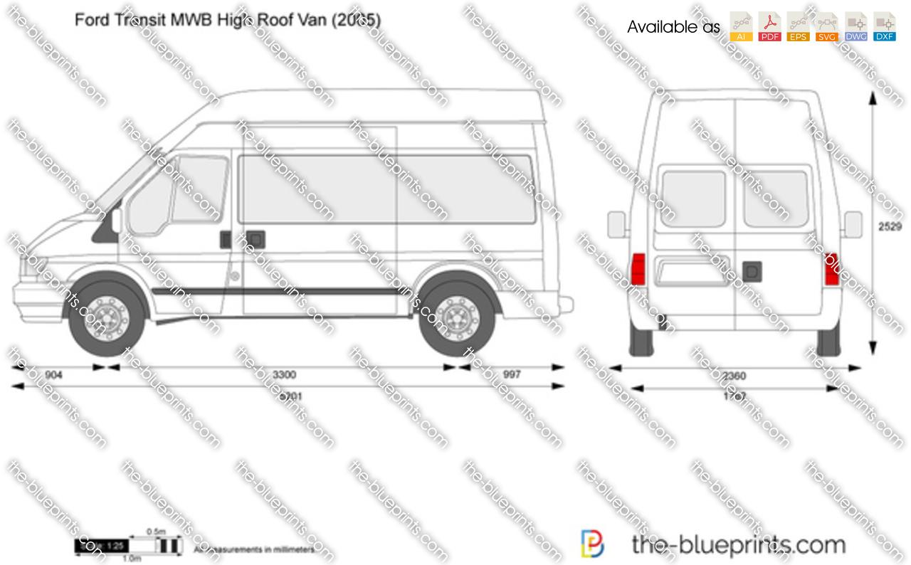 Ford Transit High Roof Lwb Dimensions