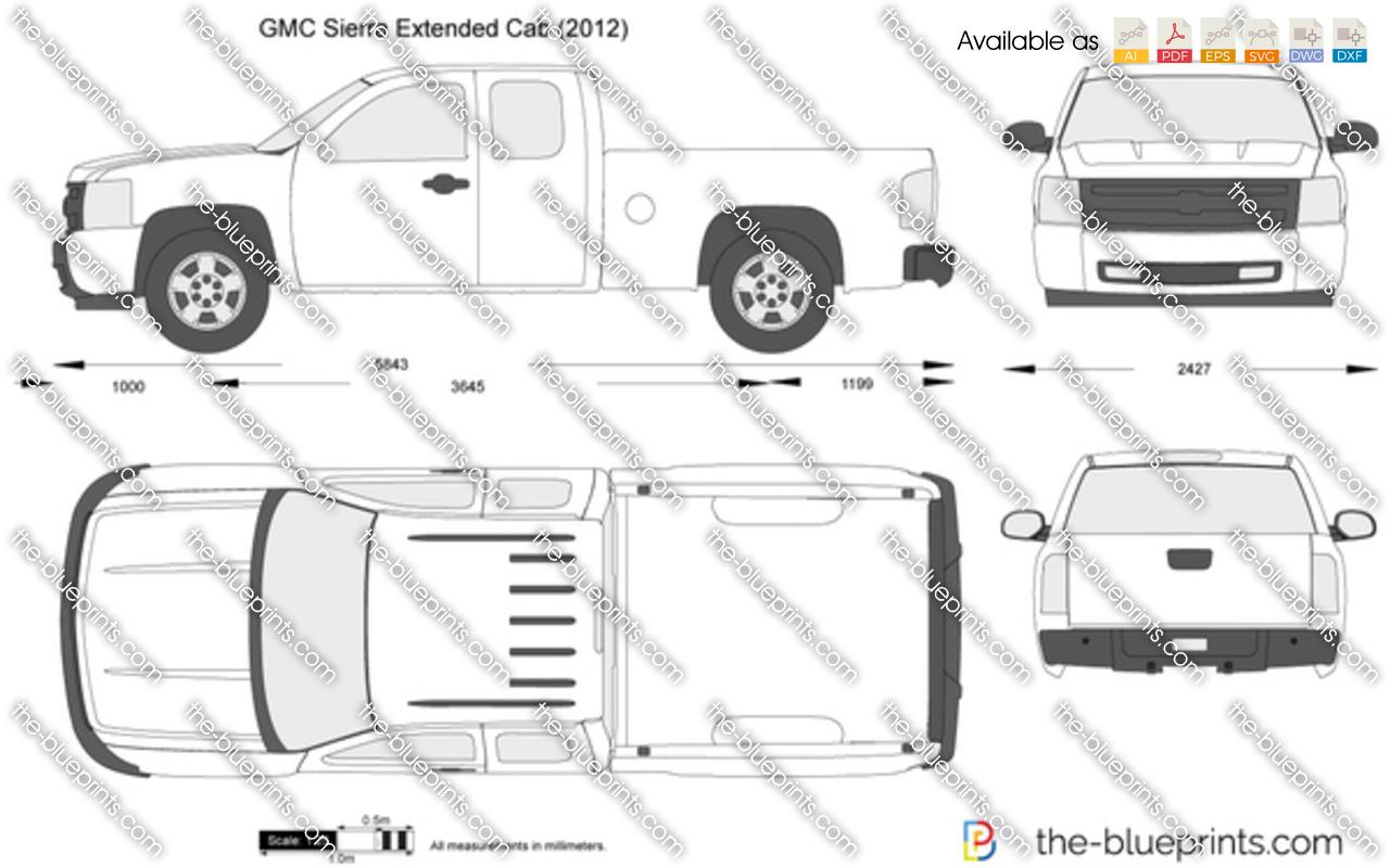 Gmc sierra dimensions