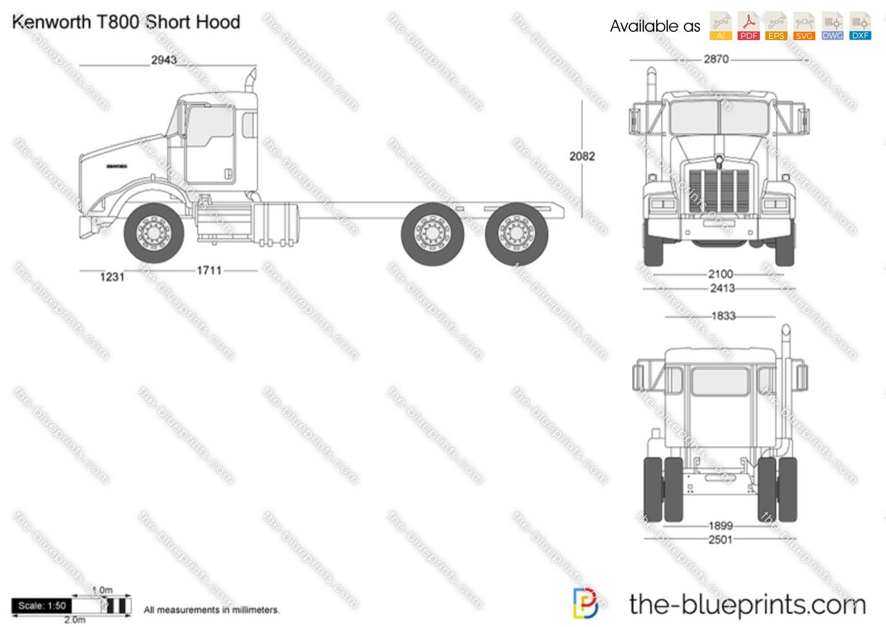kenworth wiring diagram p94 1619 for 7 way trailer plug dash 379 peterbilt trucks diagrams ac
