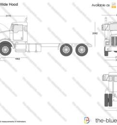 kenworth truck dimension [ 1280 x 905 Pixel ]