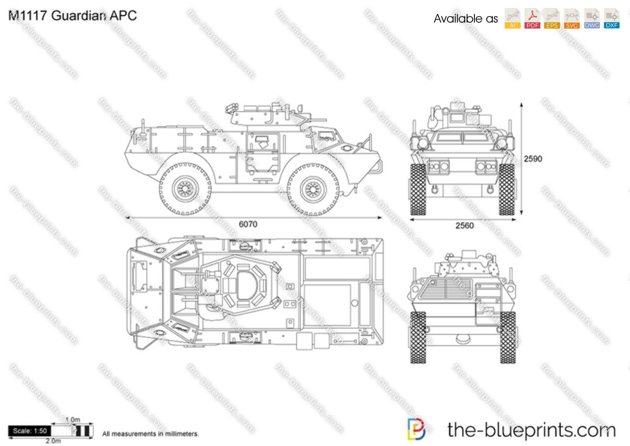 M Guardian Apc Vector Drawing