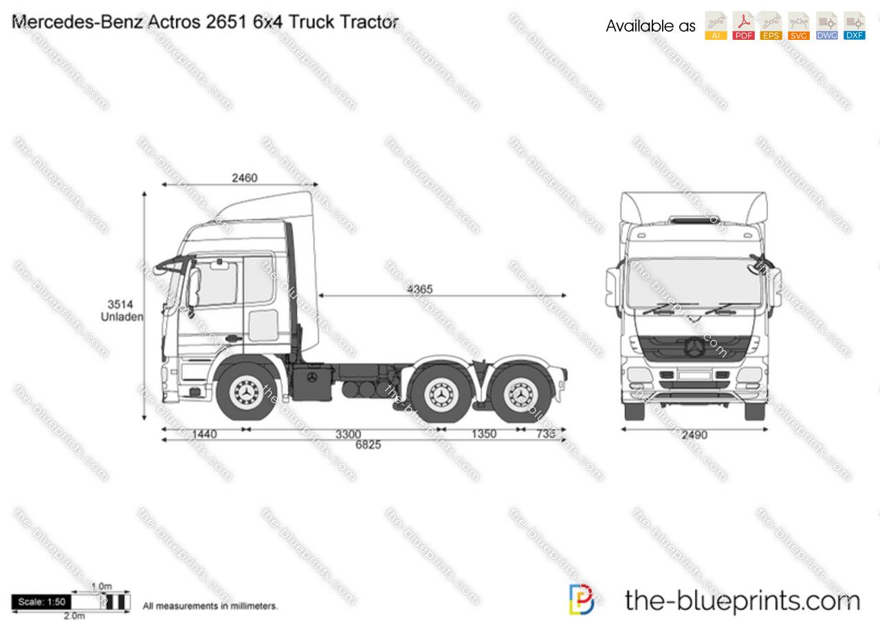 Mercedes Truck Mercedes Truck Dimensions
