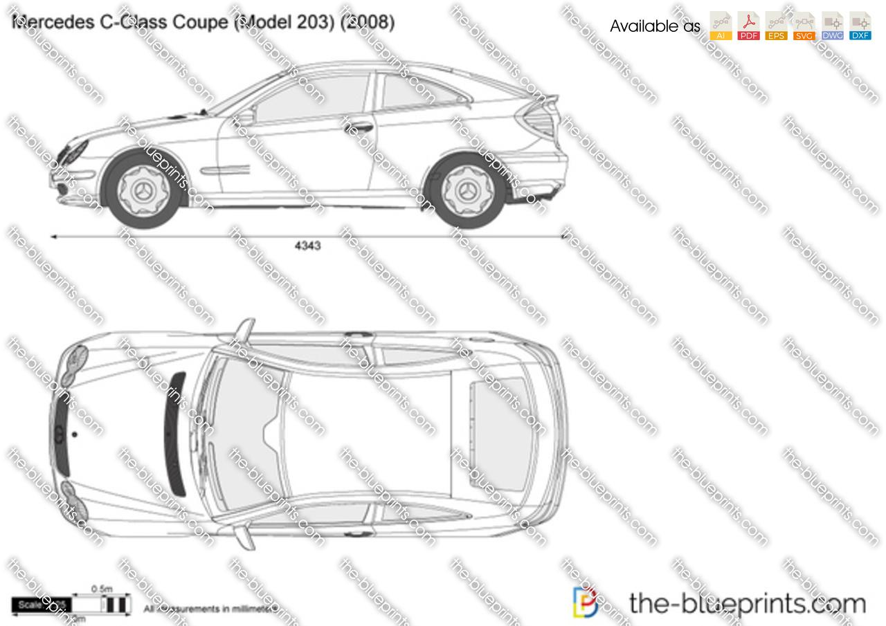 2007 Mercedes benz c class dimensions