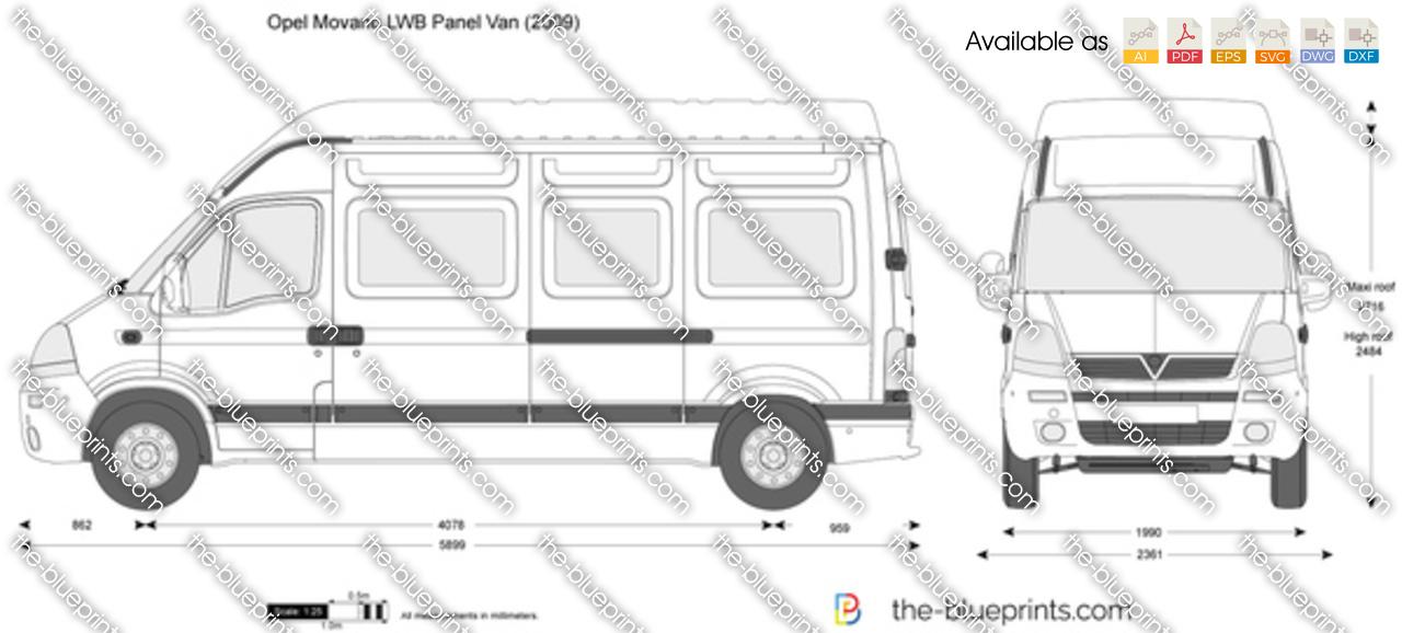 Opel Movano LWB Panel Van 2003