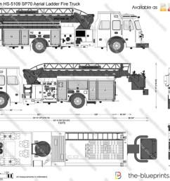 sutphen hs 5109 sp70 aerial ladder fire truck [ 1280 x 933 Pixel ]