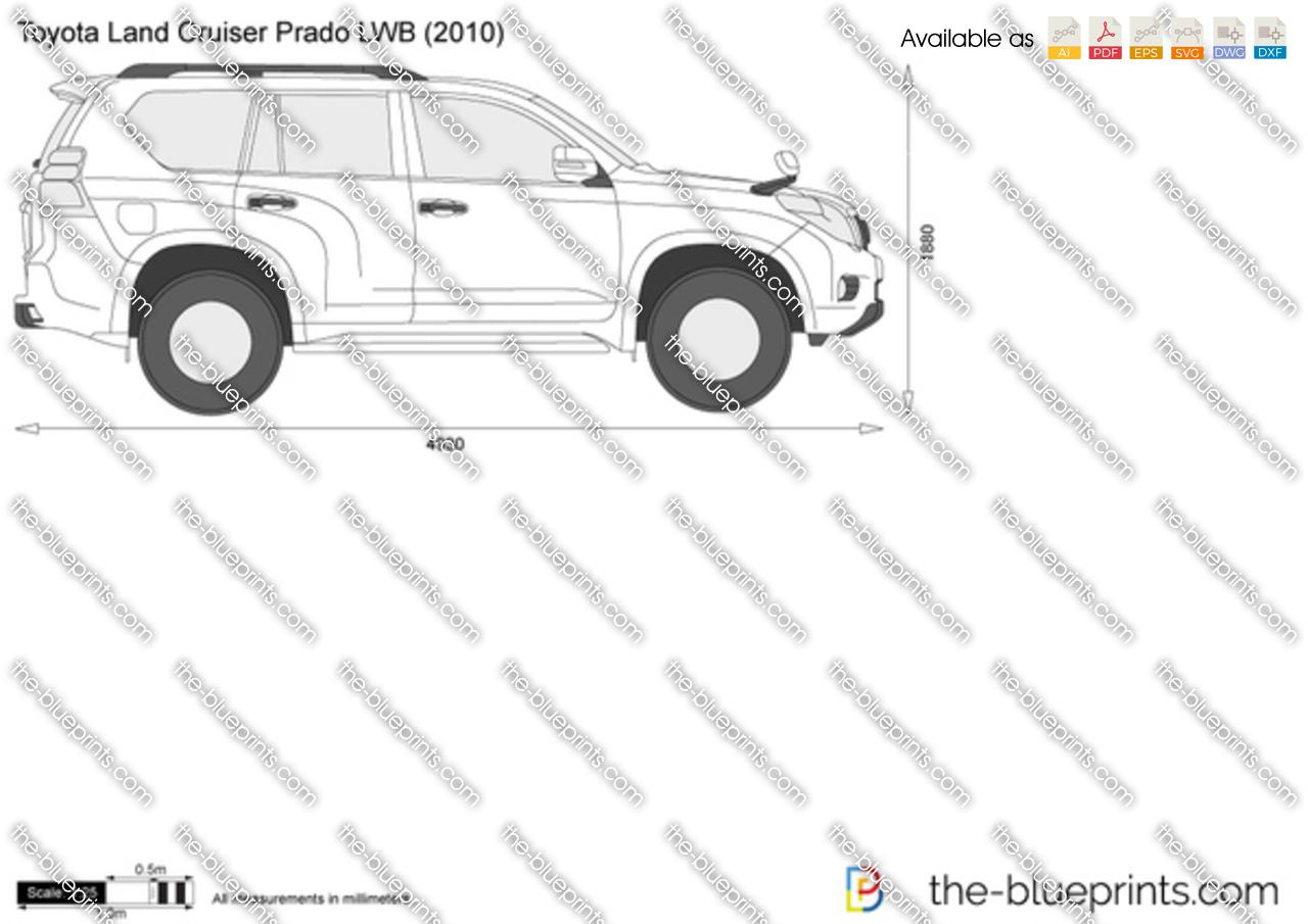 2011 Toyota prado dimensions