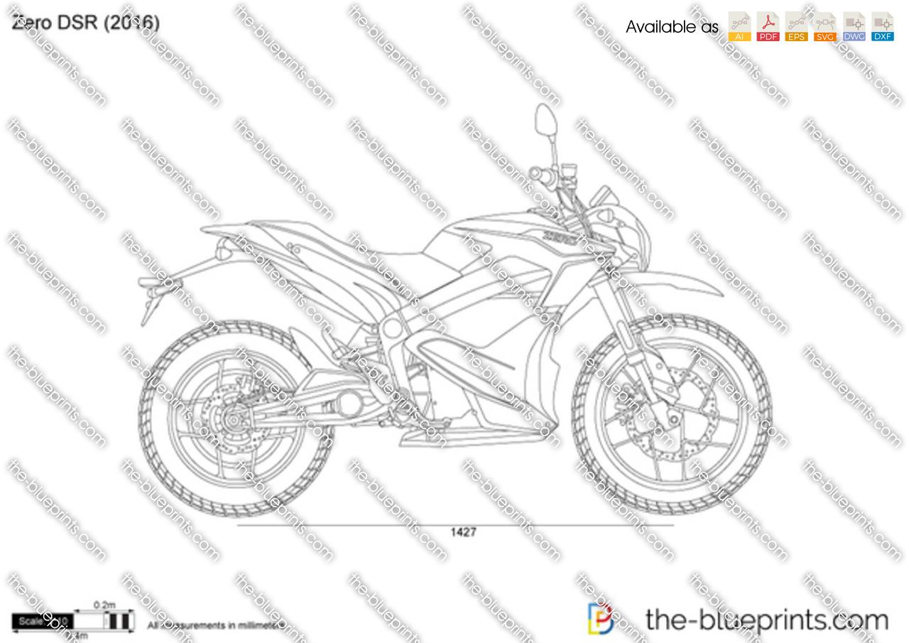 Zero Dsr Vector Drawing