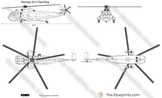Blueprints > Helicopters > Sikorsky > Sikorsky SH-3 SeaKing