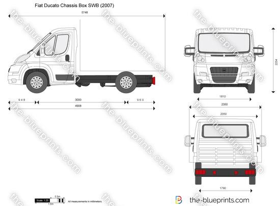 Blueprints > Cars > Fiat > Fiat Ducato Chassis Cab (2007)