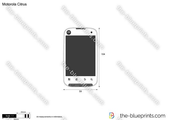 Motorola Citrus vector drawing