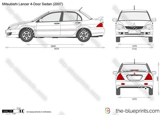 Blueprints > Cars > Mitsubishi > Mitsubishi Lancer